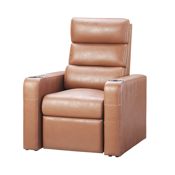 影院沙发椅LS-818一位棕色