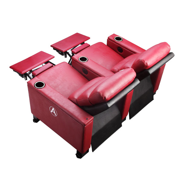 影院沙发椅LS-818两位红色